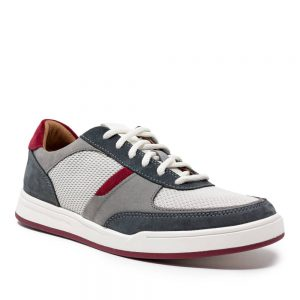 Clarks Bizby Lace Dark Grey Combi
