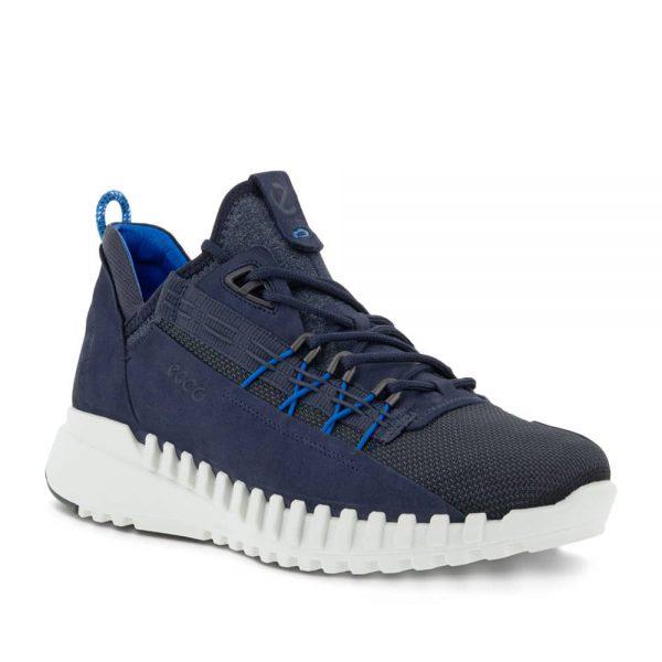Ecco Zipflex M Low Sneaker Marine