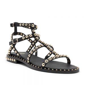 Ash Precious Sandals Black Leather