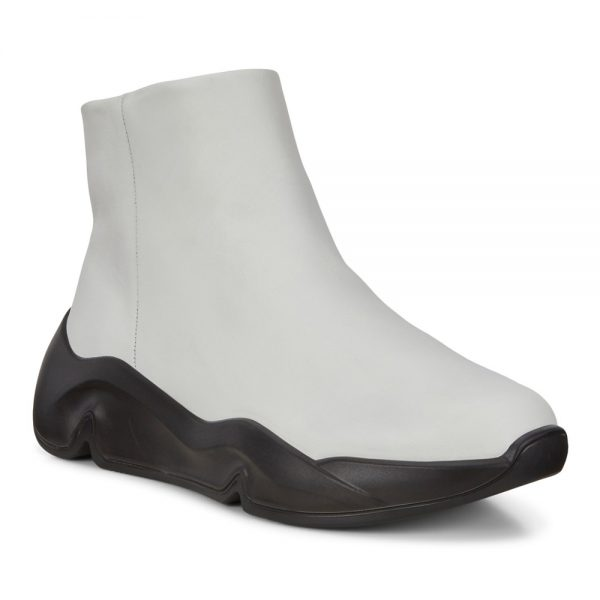 Ecco Chunky Sneaker W. Premium Leather Shoes