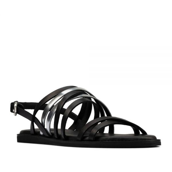 Clarks Karsea Ankle Black Combi Leather