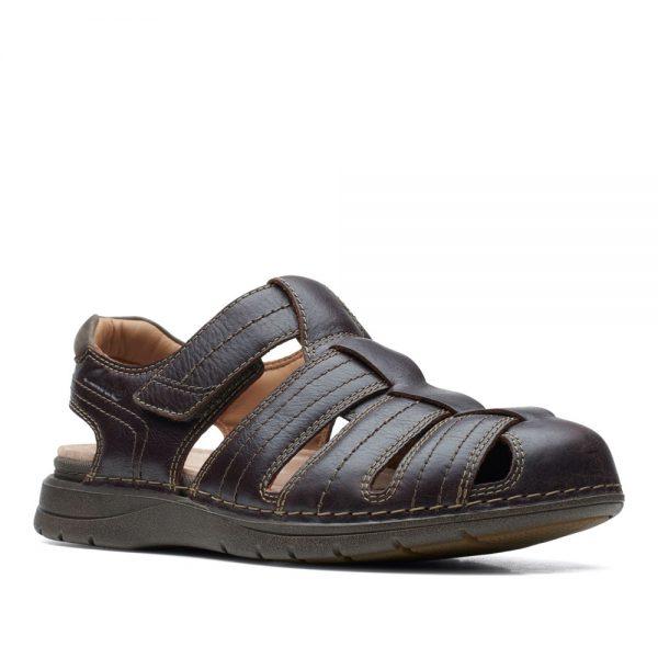 Clarks Nature Limit Mahogany. Premium Sandals