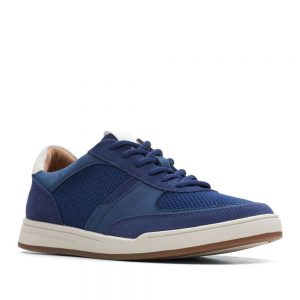 Clarks Bizby Lace Dark Blue Combi