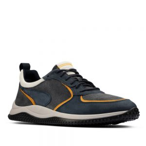 Clarks Puxton Run Navy Combination