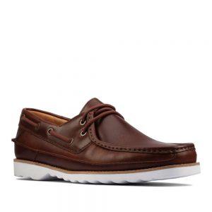 Clarks Durleigh Sail Tan Leather