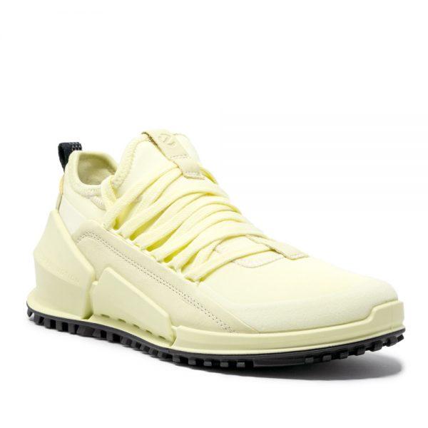 Ecco Biom 2.0 W Yellow. Premium Leather Sneakers