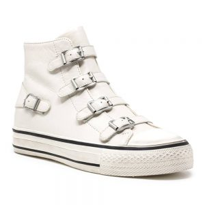 Ash VIRGIN Buckle Leather Trainers