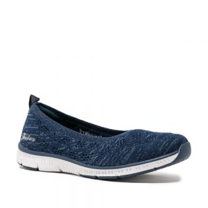 Skechers Be Cool in the Moment Navy. Premium Trainers