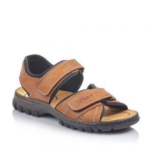 Rieker 25051-25 Men's Brown Sandals