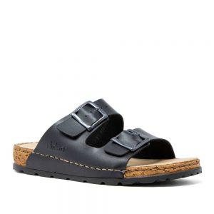 Rieker 25690-01 Slip On Sandals