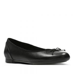 CLARKS Couture Bloom Black Leather