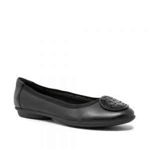 CLARKS Gracelin Lola Black. Premium Leather Shoes. Free