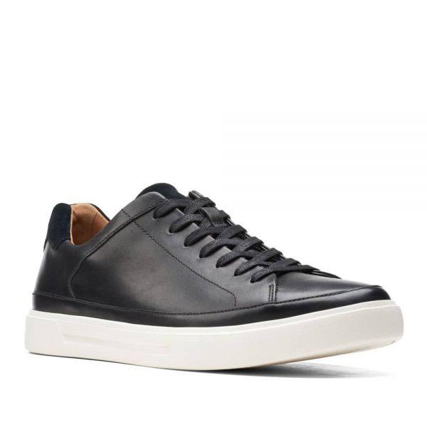 Clarks Un Costa Tie Black Leather