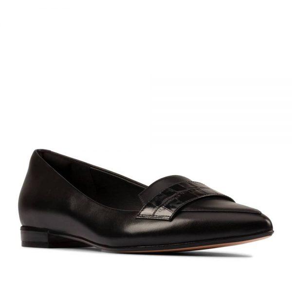 CLARKS Laina 15 Loafer 2 Black