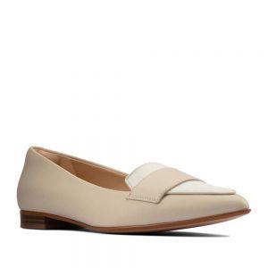 CLARKS Laina 15 Loafer 2 White