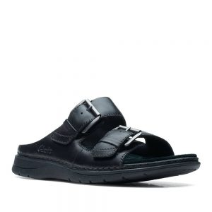 Clarks Nature Vibe Black Leather