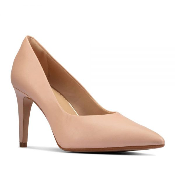 Clarks Genoa85 Court Light Pink Leather