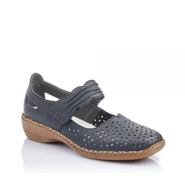 Rieker 41399-14 Ladies Blue Shoes