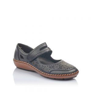Rieker 44875-00 Ladies Black Shoes