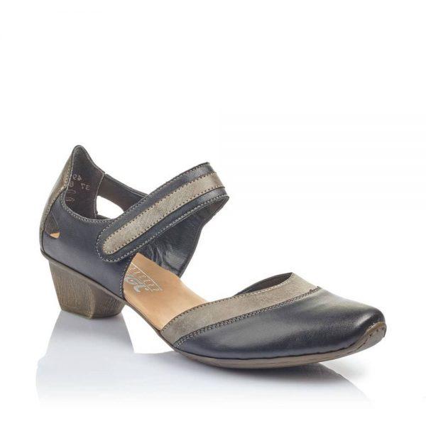 Rieker 49780-00 Ladies Black Shoes