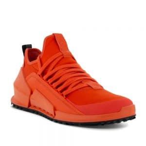 Ecco Biom 2.0 M Low Fire. Premium Leather Sneakers