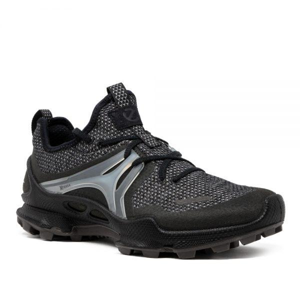 Ecco Biom C-Trail M Black Tex. Premium Leather Sneakers