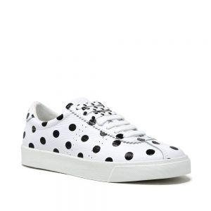 Superga 2843 Club S Leather Print. Leather Trainers