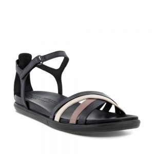 ECCO Simpil Sandal Flat Sandal Black.