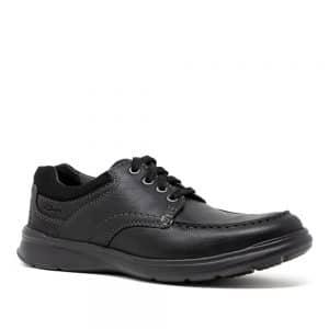 Clarks Cotrell Edge Black Oily. Premium Shoes