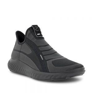 Ecco ATH-1F M Black. Premium Leather Sneakers