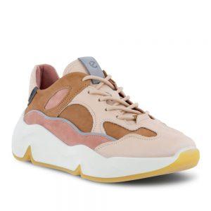 Ecco Chunky Sneaker W Multicolor Toffee