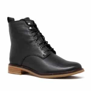 CLARKS Clarkdale Lace Black. Premium Leather Shoes