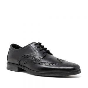 CLARKS Howard Wing Black. Premium Shoes