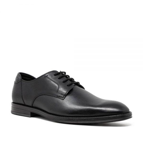 CLARKS Citi Stride Walk Black. Premium Shoes