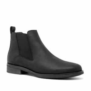CLARKS Memi Top Black. Premium Leather Shoes