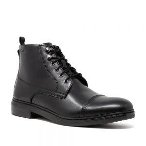 CLARKS Blackford Rise Black. Premium Shoes.