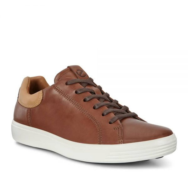 ECCO Soft 7 M Sneaker Mahogany