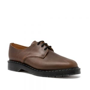 Solovair Crazy Horse Greasy Pull-Up Gibson Shoe
