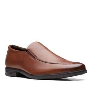 CLARKS Howard Edge British Tan Leather. Premium Shoes