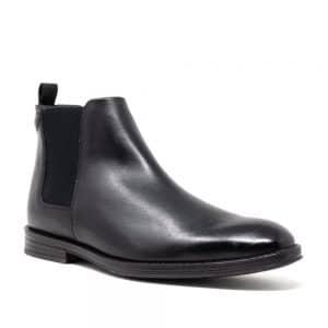 CLARKS CitiStride Top Black Premium Shoes