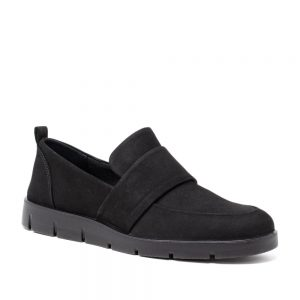 Ecco Bella Loafer. Premium Black Leather shoes