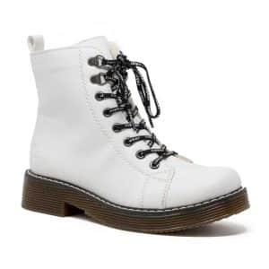 Rieker 70001-80 Canton White Ladies Boots