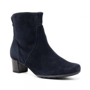 Gabor 72.820.46 Dark Blue Boots. Premium Dark Blue Shoes