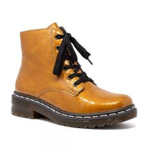 Rieker 76240-68 Yellow Ladies Boots