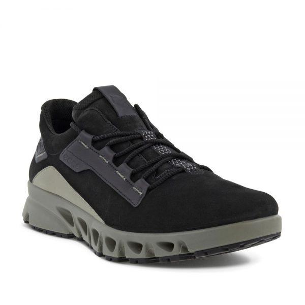 Ecco Multi-Vent M Low GTX Nub. Premium Leather Sneakers