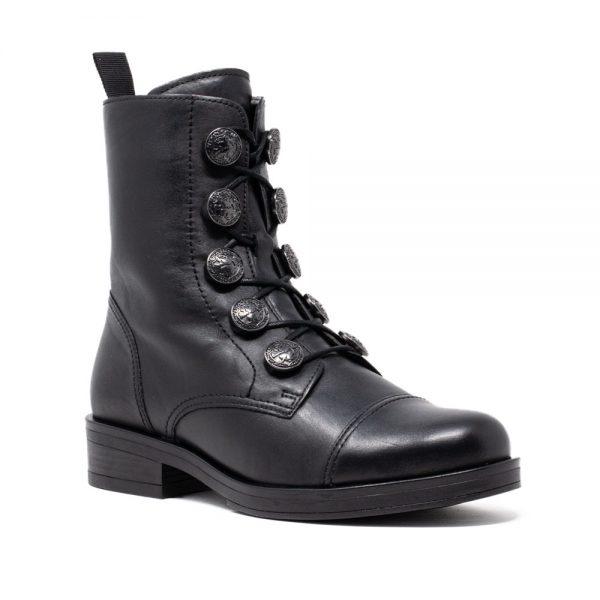 Gabor 71.796.27 Black. Premium Black Leather Shoes