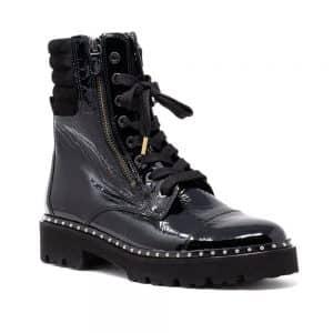 Gabor 71.802.97 Black. Premium Black Leather Shoes