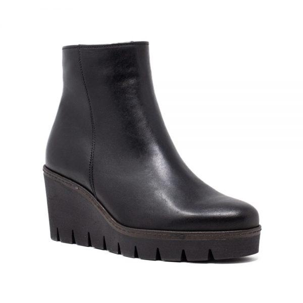 Gabor 74.780.27 Black Platform Boots