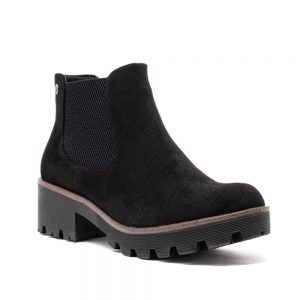 Rieker 99284-00 Ladies Black Ankle Boots