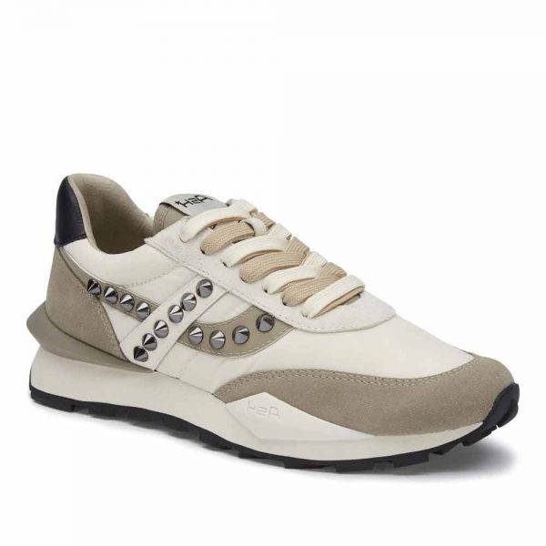 Ash Spider 168 Studs Trainers in Taupe